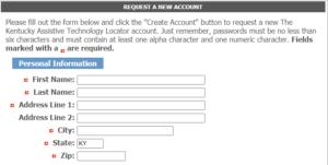 AT Locator Registration Form
